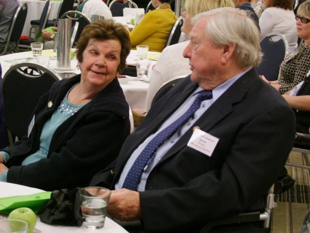 David and Aileen Sharpe travelled from South Australia to represent their Association.