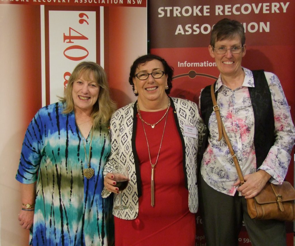 It was the first time members of our Orange Stroke Recovery Club had the opportunity to attend an Association event.