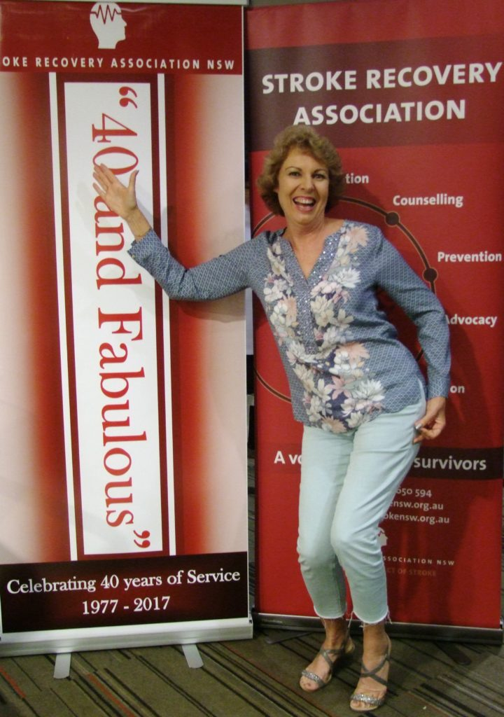 Susie Wright from The Queensland Stroke Association very much enjoyed her time with us.